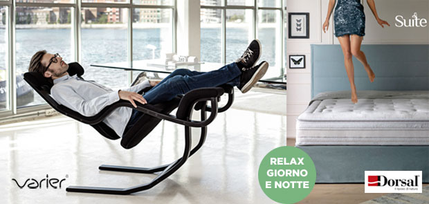 arredamenti poltrone relax sistemi benessere letto